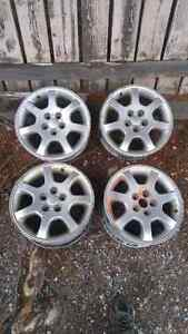 Set of 15 inch rims for sale. Must go fast! Prince George British Columbia image 2