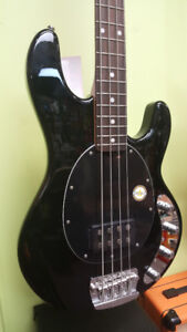 brand new Sterling by MusicMan 4-string Bass at dealer cost!