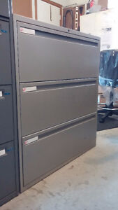 Used Global 3 Drawer Lateral
