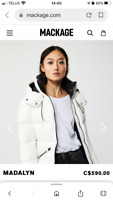 Mackage 'Madelyn' Down coat