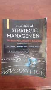 Essentials of Strategic Management: The Quest for Competitive