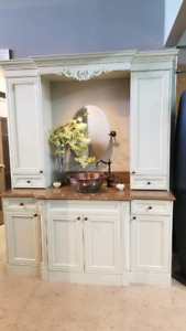 Bathroom vanity cabinet- NEW/Display