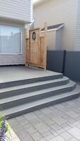 Great Decks, Patio's, Fences and Retaining Walls.