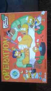 Simpsons Operation game all pieces intact works great