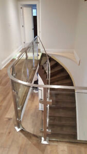 ** CUSTOMISED EXTERIOR AND INTERIOR GLASS RAILINGS **