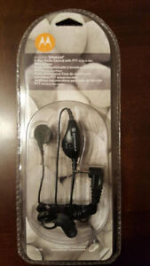 Motorola TalkAbout 53727 Earbud with Microphone for All Series