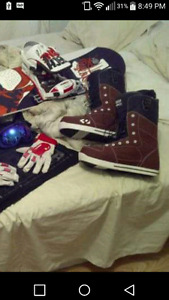 32 snowboarding boots $140.00