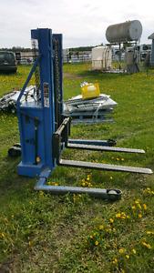 Blue Giant pallet jack forklift