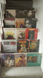 Vinyl record LPs and 45s sale Sunday