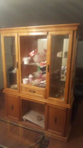 China cabinet for sale.