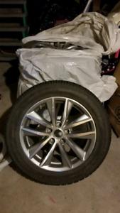 Mags 17 pouces infiniti avec pneus