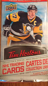 tim horton 2016/2017 hockey cards