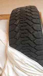 4 used Goodyear snow tires!  London Ontario image 1