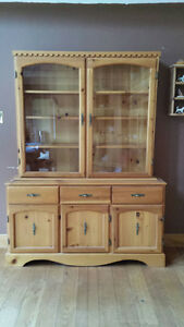 Hand Crafted China Cabinet
