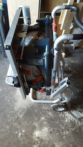 """Bosch 10""""Tablesaw with stand; Milwaukee 12""""Mitresaw with stand Edmonton Edmonton Area image 5"""
