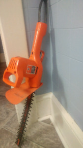 Double edge Hedge trimmer