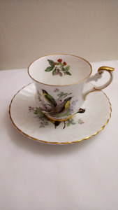 English Rosina Teacup and Saucer