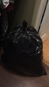 Large bag of clothes size medium and small