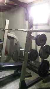 Full Home Gym - exercise equipment Nautilus