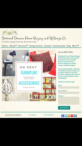 Furniture and accessory rentals