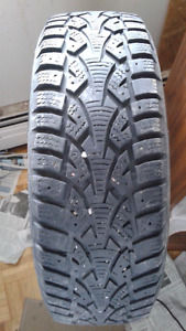 4-Winter-challenger tires. 185/65R 14. $120. call 819-230-9767
