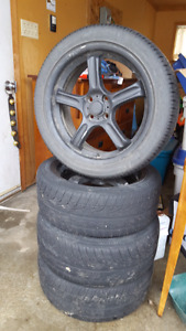 4 Rims and Summer Tires OBO