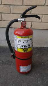 Used Empty 10 lb Fire extinguisher, only $25