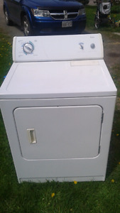Whirlpool dryer super capacity commercial quality