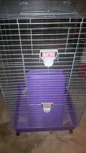 Kaytee cages 1 deluxe multi level & lrge bunny/guinea pig cage
