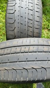 "Pair of 255/35/20"" Tires"