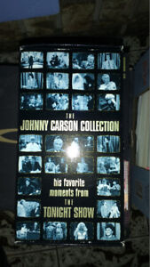 Johnny Carson video collection