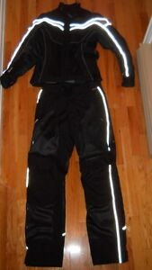 motorcycle jacket and pants (male) and (femeale)