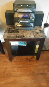 End Tables and TV Stand