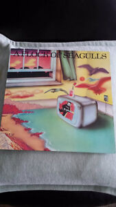 A FLOCK OF SEAGULLS VINYL ! ORIG PRESS !
