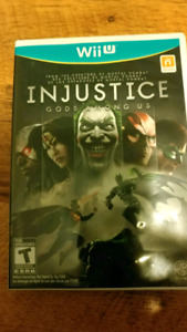 INJUSTICE GODS AMONG US WII U NINTENDO