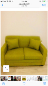 BRAND NEW GREEN COUCH FROM SEARS