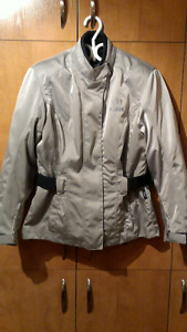 Women motorcycle jacket, manteau motocyclette pour femme,