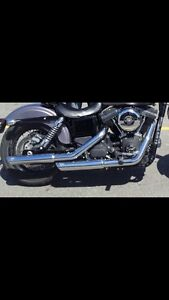 Vance & Hines chrome pipes