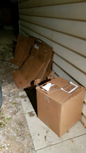 Free moving boxes -- lightly used and ready to go