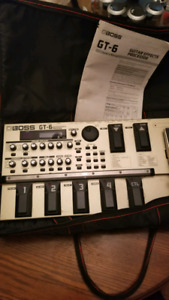 Boss GT-6 excellent condition with a soft case