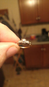 14k Gold Engagement ring.