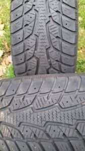 """A pair of 205/55/16"""" Winter tires,Lots of tread"""