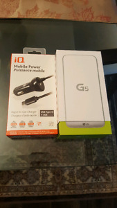 LG G5 Silver never opened box with Fido and Rogers
