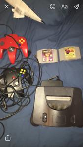 Nintendo 64 et gamecube