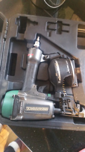 Masterforce Coil roofing nailer + nails