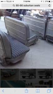 Wanted 1960-66 suburban original seats
