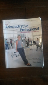 Office Administration- Administrative Professional textbook