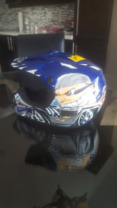 USED GMAX DIRT BIKE HELMET YOUTH M