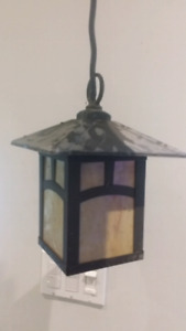Arts and Crafts Style Porch Light