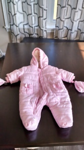 0 to 3 month snow suit